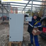 ВРУ на 120 кВт для магазина SPAR (временное электроснабжение)